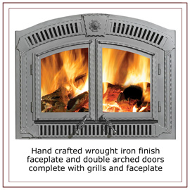 / Wood Fireplaces / Napoleon NZ3000 High Country EPA Certified Wood