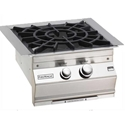 Picture of Fire Magic Built-In Power Burner with Porcelain Cast Iron Grid