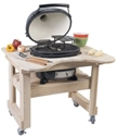 Picture of Primo Cypress Table for Oval Junior Grill PRM605