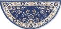 Picture of 44'' Blue Oriental Virgin Wool Half-Round Rug