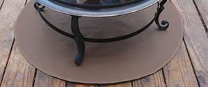 Www Fsfireplace Grill Mats Round Deck Mat