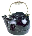 Picture of 2 1/2 Qt. Cast Iron Humidifying Kettle - Black Enamel