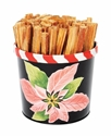 Picture of Poinsettia - Fatwood Caddy