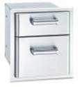 Picture of Fire Magic 43802 Double Storage Drawers