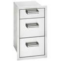 Picture of Fire Magic 53803 Flush Mount Triple Storage Drawers