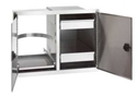 Picture of Fire Magic 23930S-12 Legacy 20 x 30 Double Access Doors w/Dual Drawer & Tank/Trash Tray